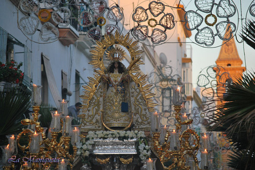 procesion de la palma coronada de cadiz