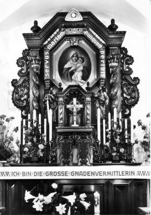 altar de la iglesia de marienfried