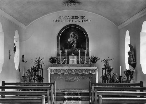 interior de la iglesia de marienfried