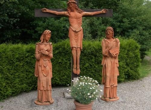 crucifixion en marienfried fondo