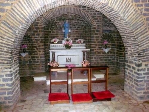 altar del santuario de natividade