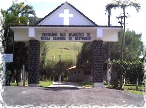 entrada al santuaria de natividade