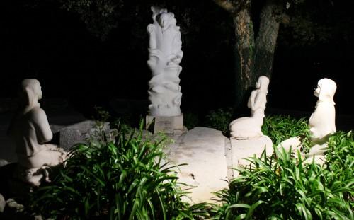 pastorcitos de fatima y angel de la paz fondo