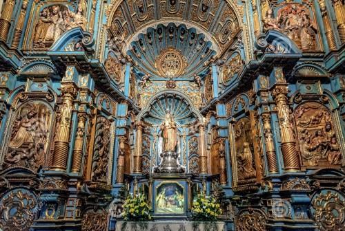 capilla de ns de la evangelizacion en catedral de lima