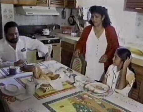 familia de virgen del pan