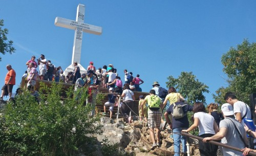 cruz en kicevak medjugorje fondo