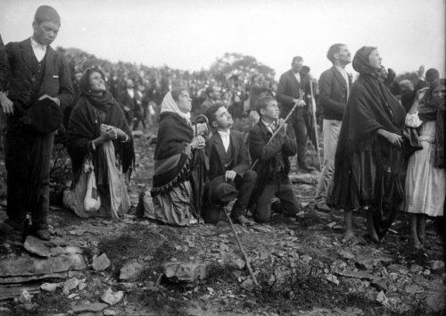 milagro del sol en fatima 13 de cotubre 1917