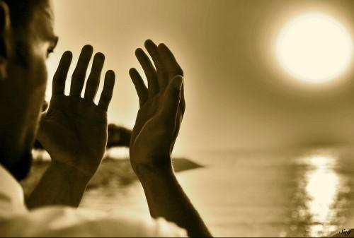 manos en oracion fondo