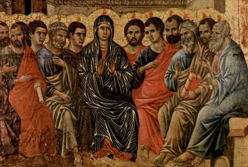 baja del espiritu santo en pentecostes fondo