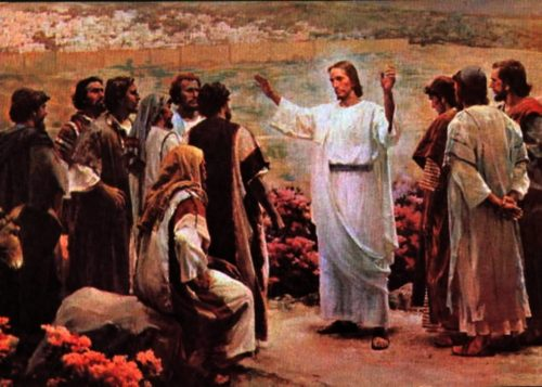 jesus con sus discipulos
