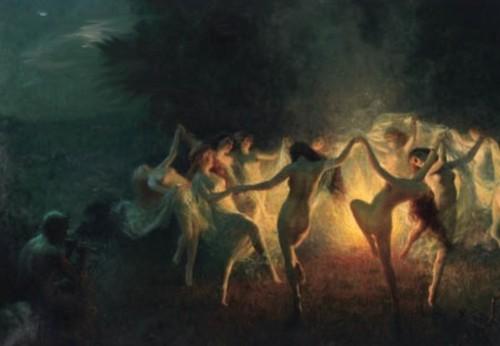 brujas danzando