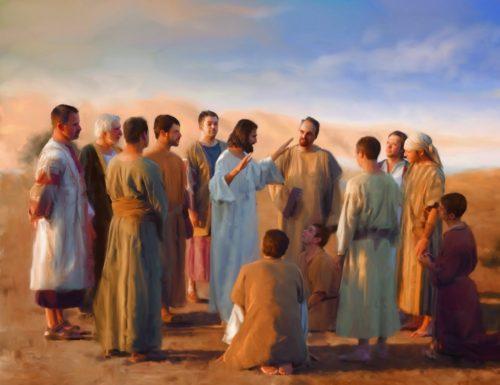 jesus habla a sus discipulos