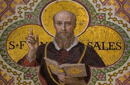 icono de san francisco de sales
