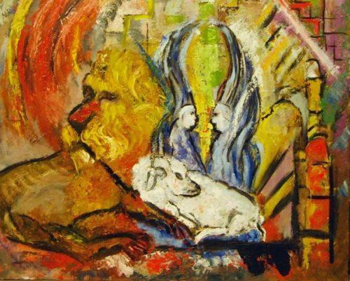 la oveja y el leon