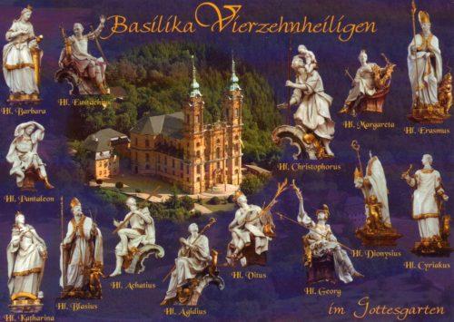 basilica de vierzehnheiligen