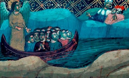 navicella del purgatorio