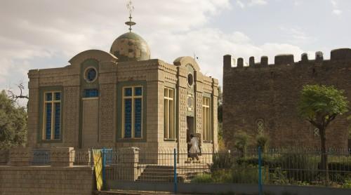 capilla que conserva el arca de la alianza en etiopia fondo