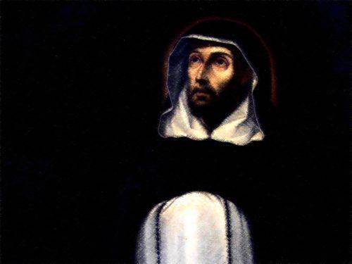 Pintura de Santo Domingo de Guzman