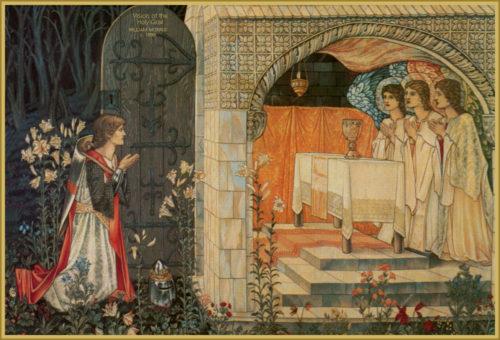 vision del santo grial