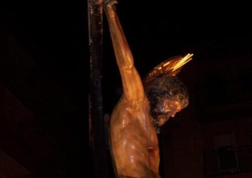 torso de cristo crucificado