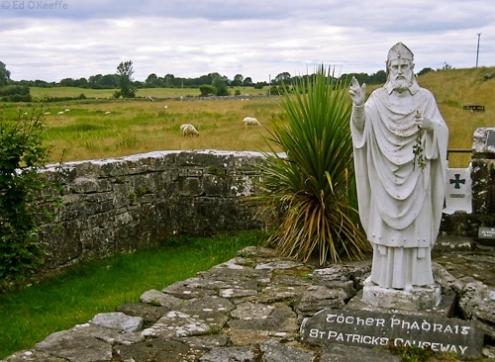 estatua de san patricio