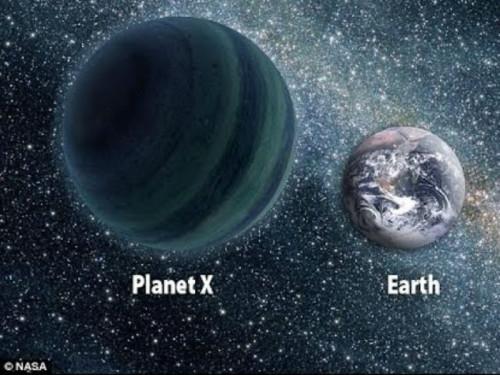 planeta 9 y la tierra