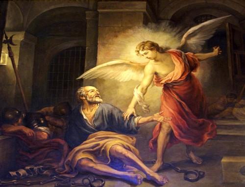 angel libera a pedro fondo