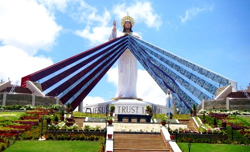 Divina Misericordia en la ciudad El Salvador en Mindanao Filipinas