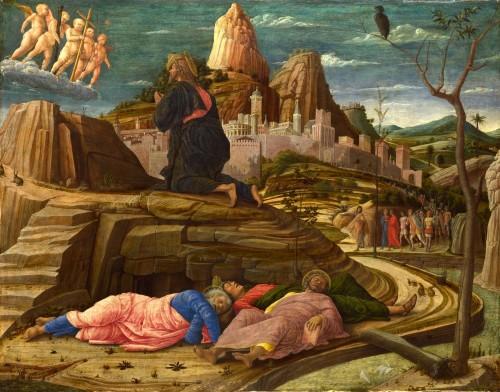 oracion en el huerto andre mantegna fondo