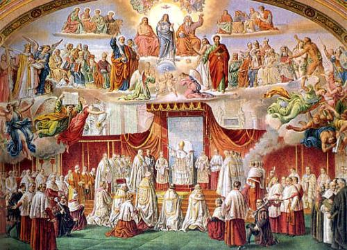 dogmas de la iglesia dibujo
