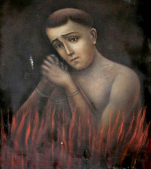 pobre alma del purgatorio