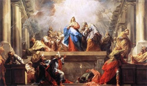 descendimiento del espiritu santo