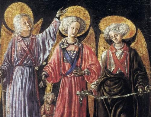 los tres arcangeles