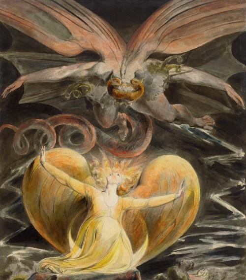 el dragon persigue a maria