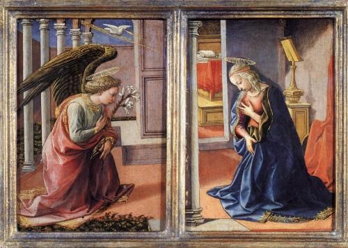 anunciacion del angel gabriel a maria