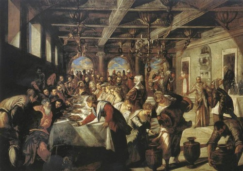 parabola de los invitados al festin