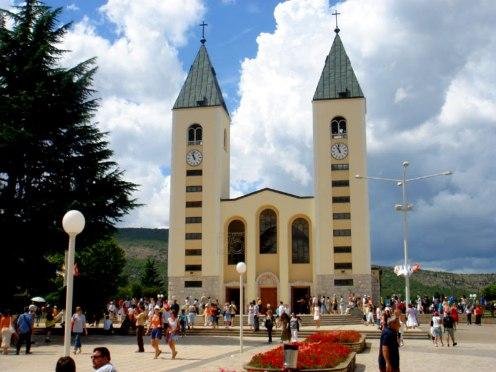 iglesia de medjugorje