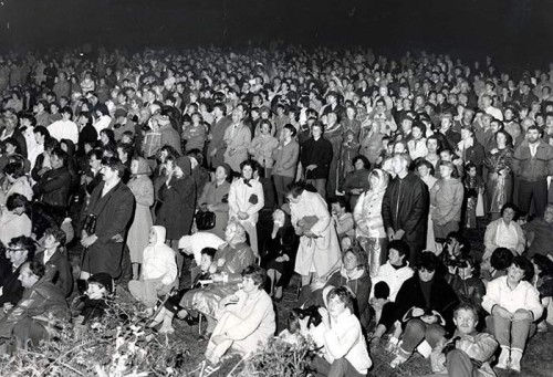 multitudes en ballinspittle 1985