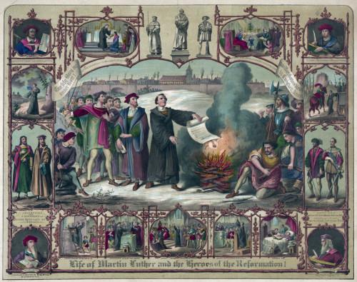 escenas de la reforma protestante