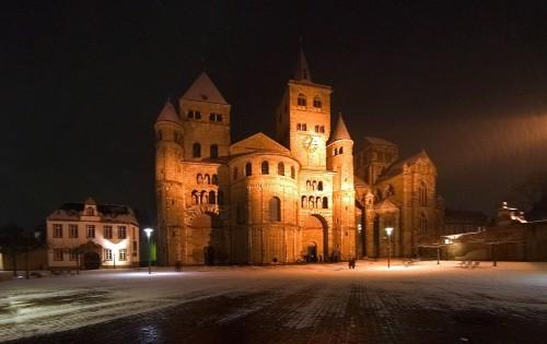 Catedral de Trasteveris donde predicaba Santa Hildegarda de Bingen