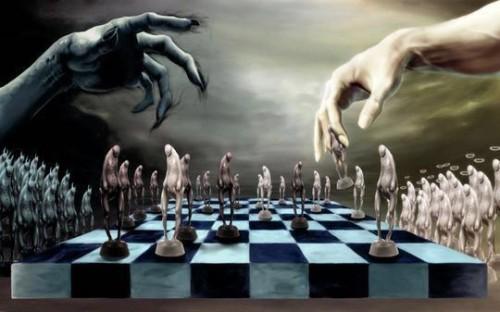 ajedrez entre el bien y el mal