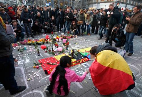 homenaje de belgica a las victimas del atentado fondo