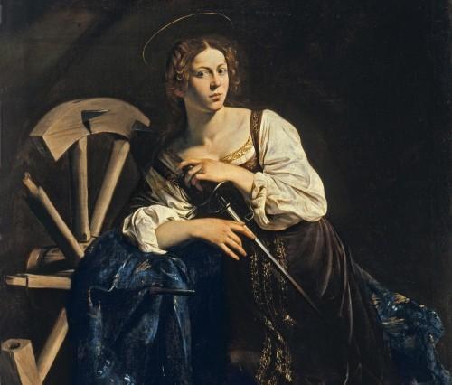 Michelangelo_Caravaggio catalina de alejandria