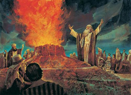 profeta elias y el fuego