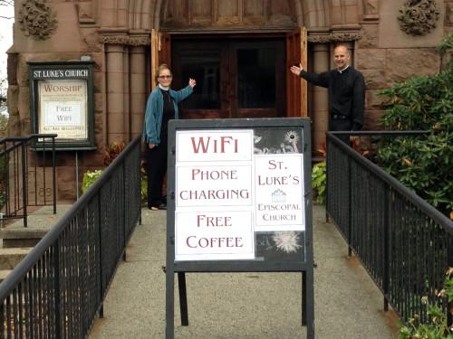 iglesia y wi fi