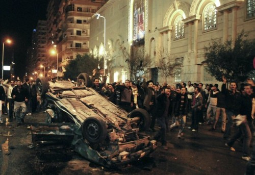 APTOPIX Mideast Egypt Church Attack