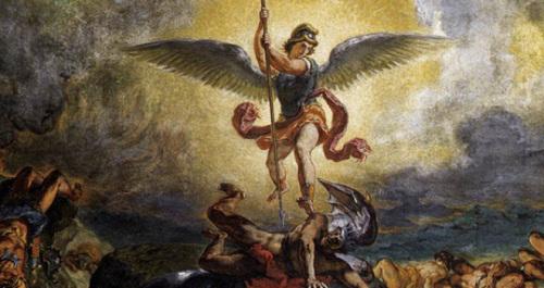 Eugene-Delacroix-St.-Michael-defeats-the-Devil-