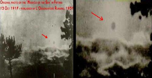 milagro del sol de fatima en 1917