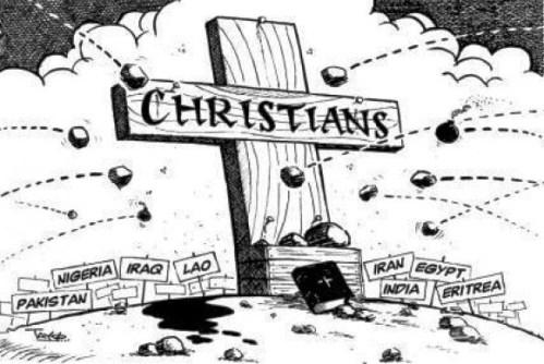 intolerencia contra cristianos