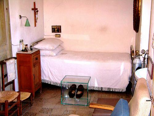 celda 5 del convento de capuchinos de san giovanni rotondo